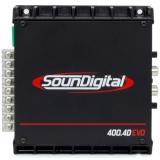 Фото - Усилитель мощности SounDigital SD 400.4D EVO