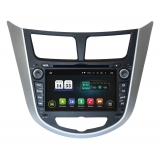 Фото - Штатная магнитола  Hyundai Accent 2011+ (TSA-2487) INCar