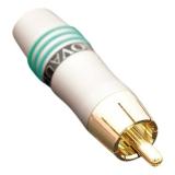 Фото -  Tchernov Cable RCA Plug Original / Green